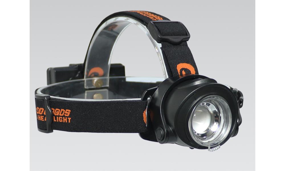 電池交換式 充電式 LEDヘッドライト