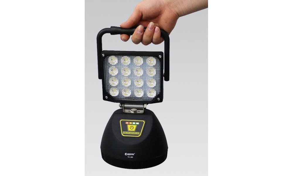 充電式LED作業灯 超大光量 超高輝度 48W
