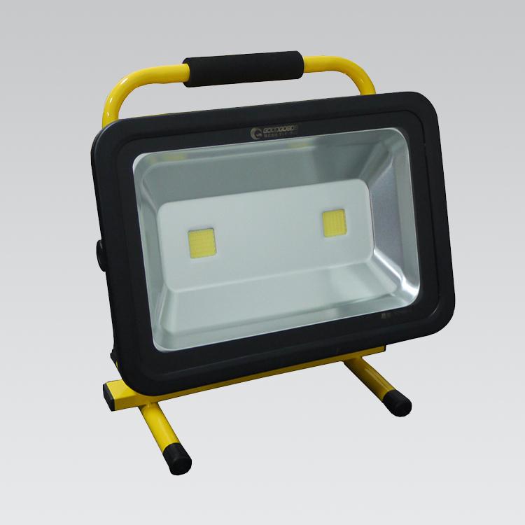 充電式 ポータブル 100W LED投光器